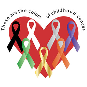 Colors of Childhood Cancer - Caleb's Crusade Fundraiser