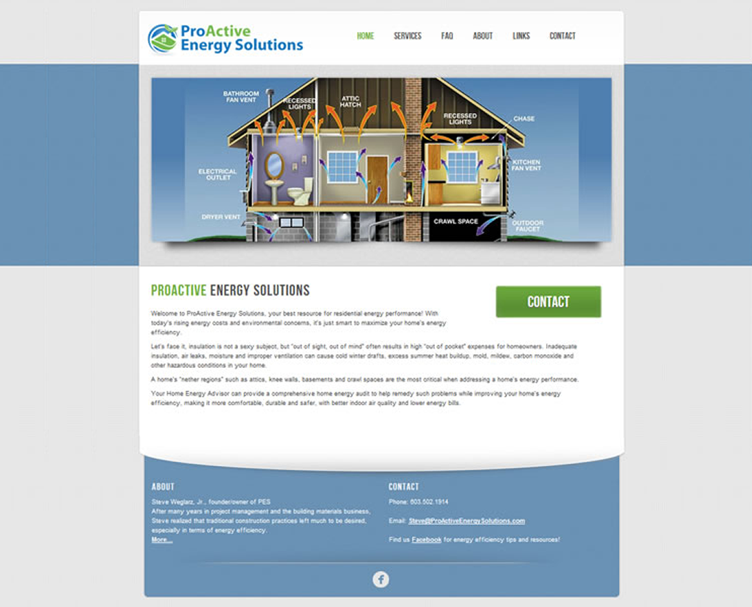 Website Design Portsmouth NH ProActive Energy Solutions