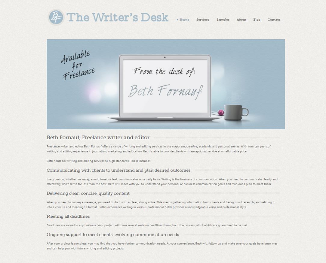 Web Design The Writers Desk York Maine