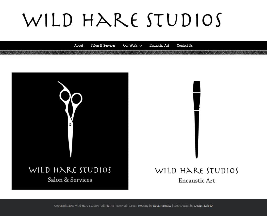 Web Design Wild Hare Studios York Maine